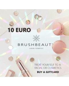 BRUSHBEAUTY | GIFTCARD 10 EURO