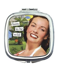 Anne taintor Make up spiegel Born to be wild
