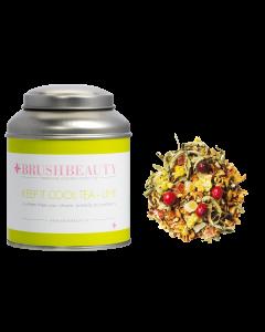 BRUSHBEAUTY keep it cool tea - lime & theeblik