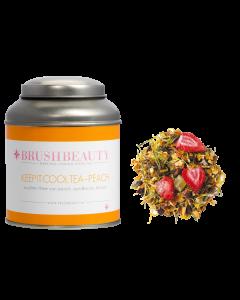 BRUSHBEAUTY keep it cool tea - peach & theeblik