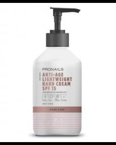 PRONAILS Anti-Age Lightweight Hand Cream SPF 15