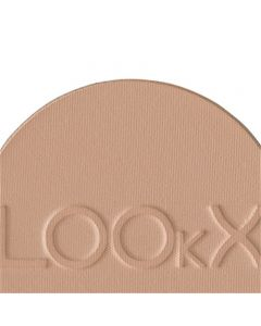 LOOkX Compact Powder Deep Beige