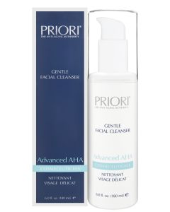 PRIORI Gentle Facial Cleanser Advanced AHA