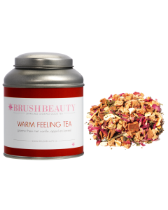 BRUSHBEAUTY warm feeling tea & theeblik