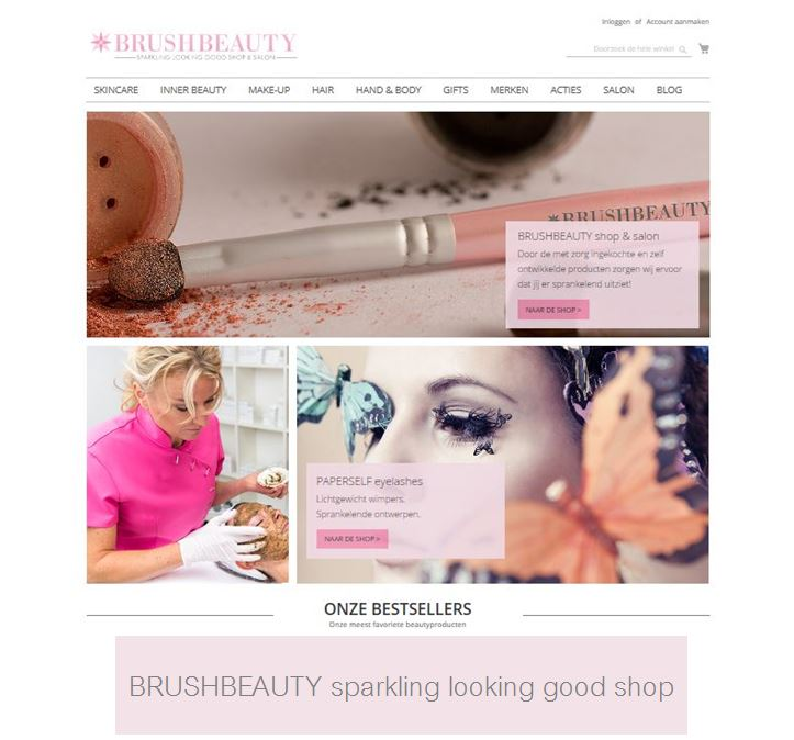 BRUSHBEAUTY sparkling looking good shop